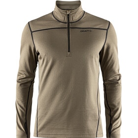 Craft Pin Halfzip Men dk olive/black
